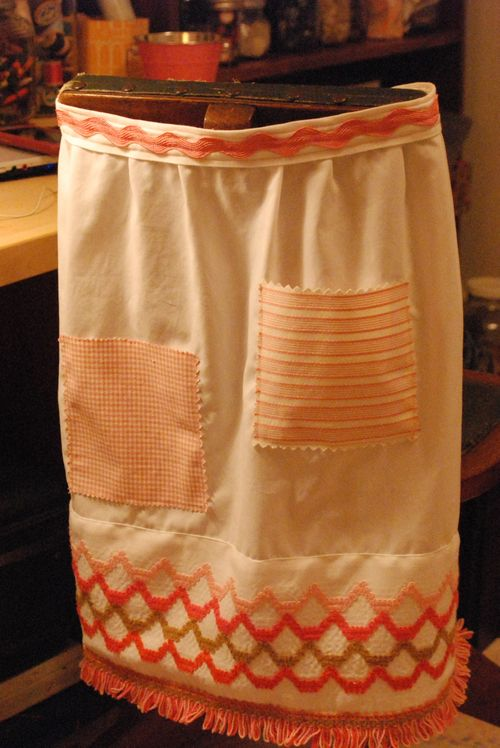 Apron for auction